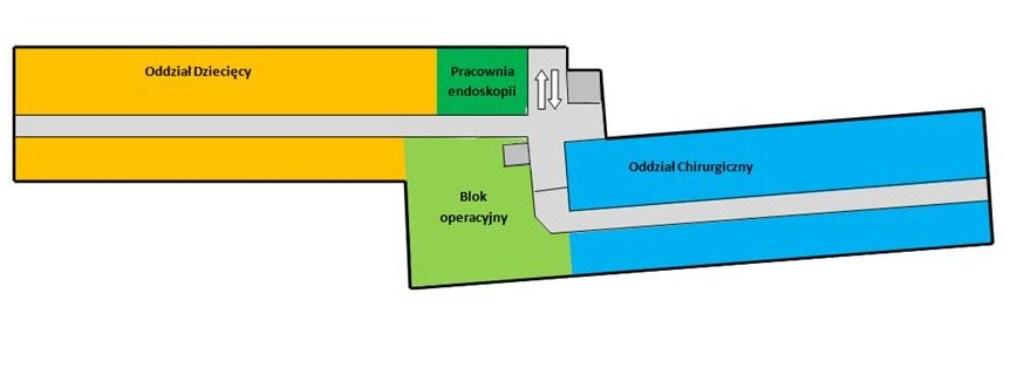 Budynek główny (A) - II piętro