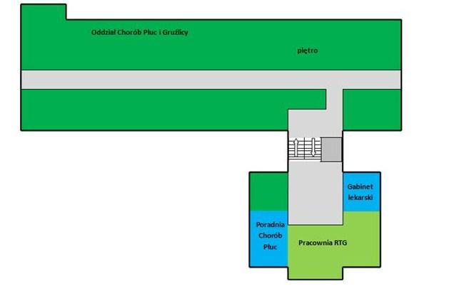 Pawilon płucny (B) - piętro