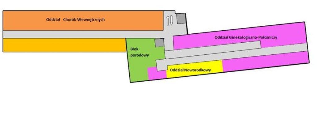 Budynek główny (A) - I piętro
